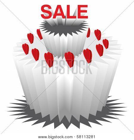Sale on Valentine's Day