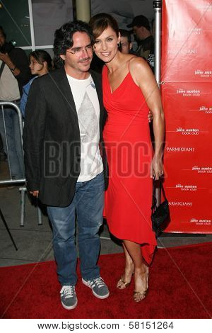 Brad Silberling and Amy Brenneman at the premiere of