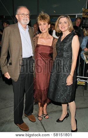 John Calley with Kathy Baker and Robin Swicord at the premiere of
