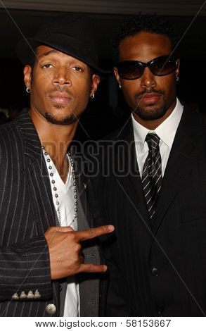 Marlon Wayans and Sean Wayans at the National MS Society's