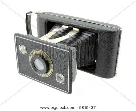 Antique 620 format film folding camera