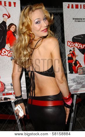 Lorielle New at the Los Angeles Party for