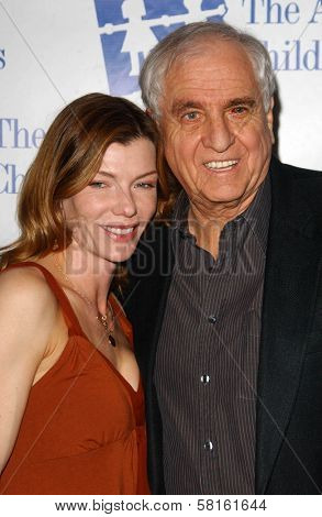 Stephanie Niznik and Garry Marshall at the