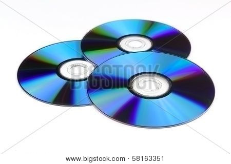Three Optical Disc