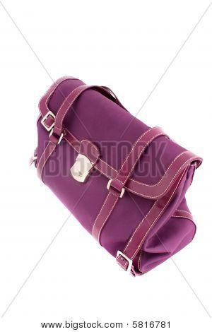 Bolsa de diseñador fucsia