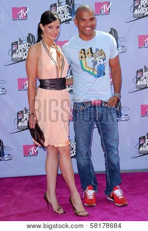 Dayanara Torres and Amaury Nolasco arriving at the 2007 MTV Movie Awards. Gibson Amphitheatre, Universal City, CA. 06-03-07