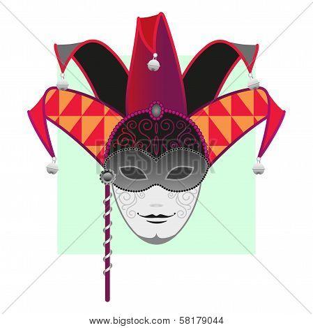 Carnival Mask-masquerade-Mardi Gras-Jester