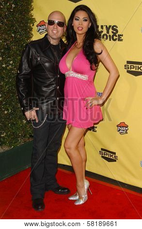 Evan Seinfeld and Tera Patrick at Spike TV's