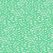 Small ditsy pattern with short hand drawn strokes in mint green color Seamless texture in hipster style for web, print, fabric, textile, website, invitation card background, summer fall fashion, paper poster