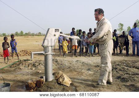 Installation Of A Pump