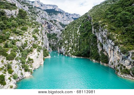 Canyon Verdon Gorge France Provence