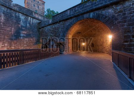 Tunnel Through The Wall