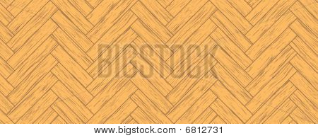 Seamless parquet, all the planks are different poster