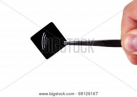 Black Rfid Tag