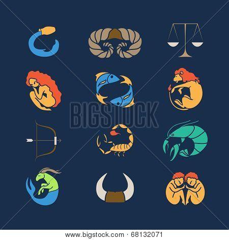 Zodiak set