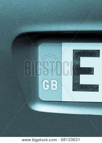 Vehicle Registration Plate
