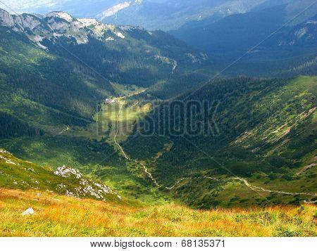 Mountain landscape - Tatras Poland