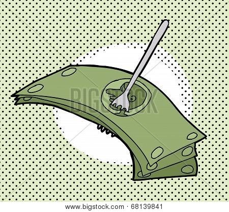 Fork Over The Money
