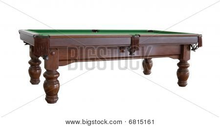 Empty Snooker Table Cutout