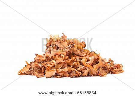 Garcinia Cambogia or Malabar Tamarind isolated on white background poster