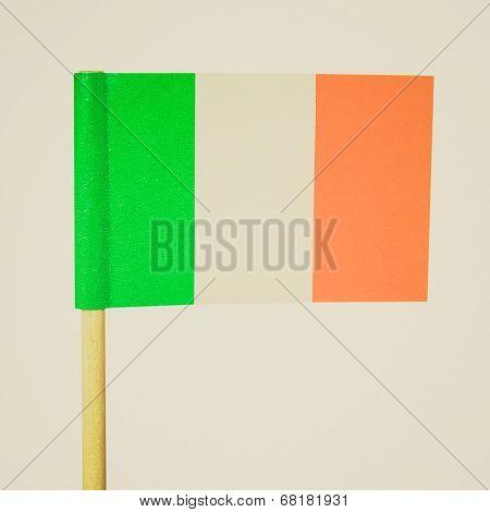 Retro Look Irish Flag