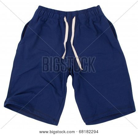 Sport shorts. Isolated on white background.
