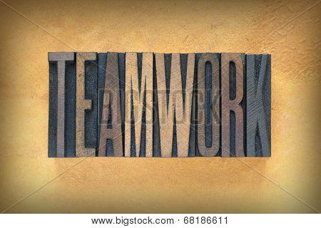 Teamwork Letterpress