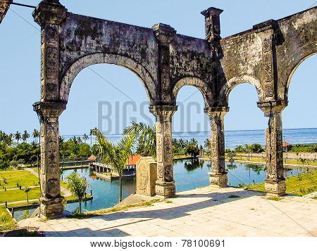Famous Water Temple Of Ujung