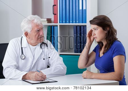 Woman At The Doctor's