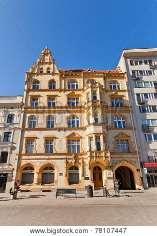 Krusche And Ender Company House (1899) In Lodz, Poland