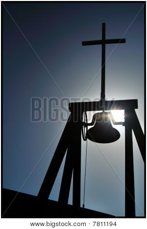 Church Bell and Cross