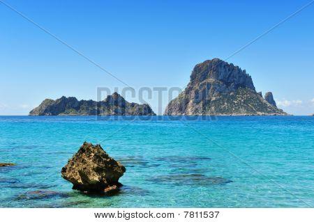 Es Vedra Cala D'hort Ibiza Spain