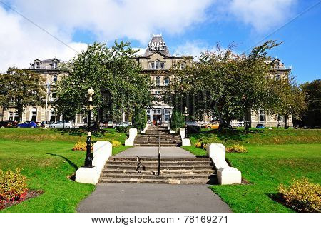 Palace Hotel and grounds, Buxton.