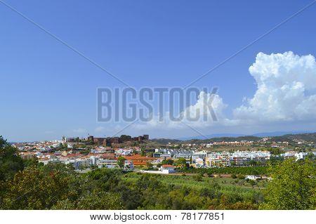 Silves city in the Algarve, Portugal