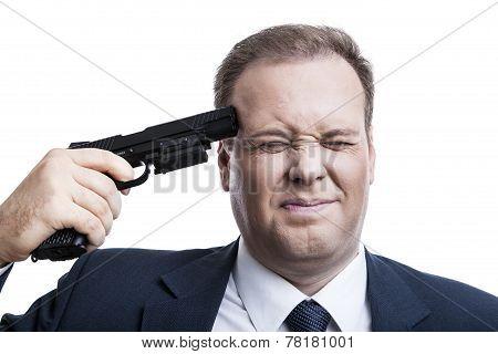 Man Shoots Himself