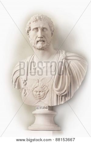 Publius Aelius Traianus Hadrianus was Roman emperor in 117 years. It came from the Antonine dynasty. Born in Spain was the heir to the Emperor Trajan.