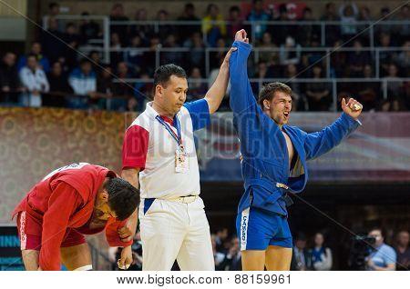 Winner Evgeniy Sukhomlinov (b) And Emil Khasanov