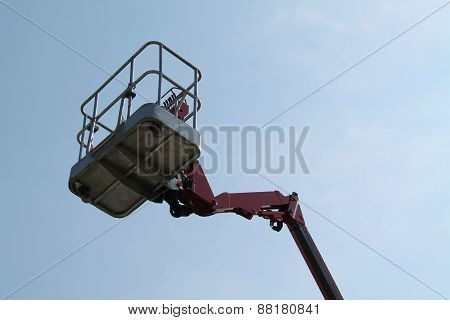 Cherry Picker Lift.