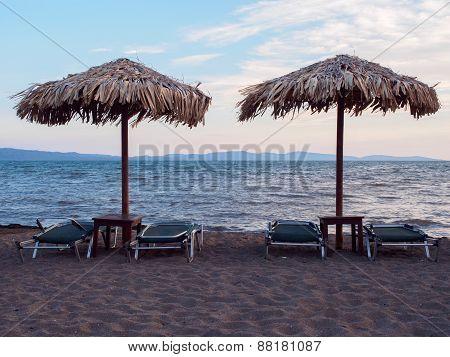 Beach on Lesbos