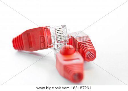 Rj45 - Three Plugs