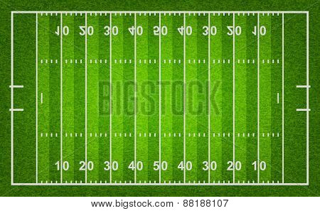 American Football Field.