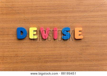Devise