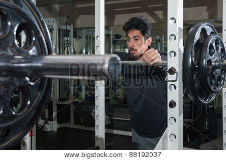 Focus between sets of squats.