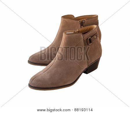 Beige Female Shammy Boot