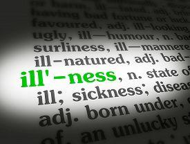 Dictionary Illness