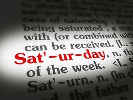 Dictionary Saturday