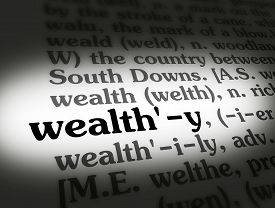 Dictionary Wealthy