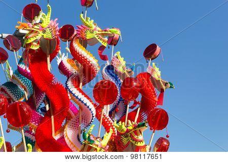 Chinese Craft Paper Dragon