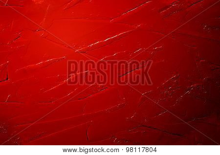 Abstract acrylic red background