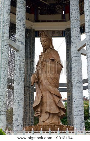 The Kuan Yin statue at Penang